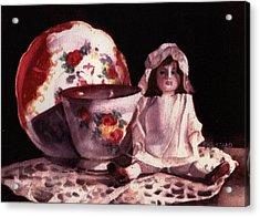 Mama's Doll Acrylic Print by Patricia Halstead