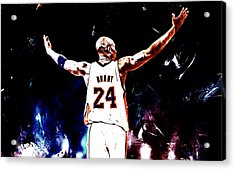 Mamba Out 2 Acrylic Print by Brian Reaves