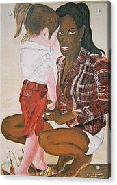 Mami Sandal Acrylic Print by Desenclos Patrick