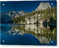 Mammoth Lakes Reflections Acrylic Print