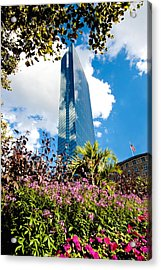 Man And Nature Acrylic Print by Greg Fortier