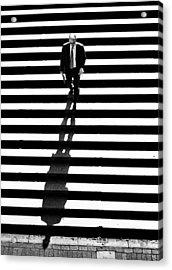 Man Bethesda Steps Acrylic Print