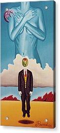 Man Dreaming Of Woman Acrylic Print