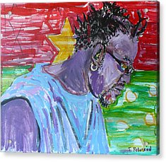 Man From Burkina Faso Acrylic Print by Todd  Peterson