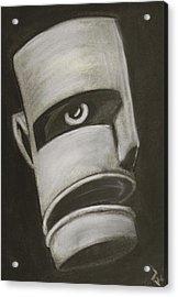 Man In Closet 2 Acrylic Print by Rick Stoesz