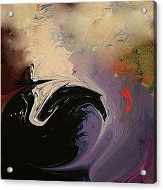 Acrylic Print featuring the photograph Man In The Moon by Carol Kinkead