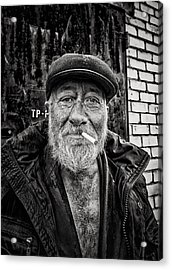 Acrylic Print featuring the photograph Man Of Freedom by John Williams