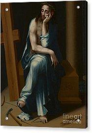 Man Of Sorrows Acrylic Print