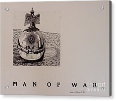 Man Of War Acrylic Print by Susan Williams