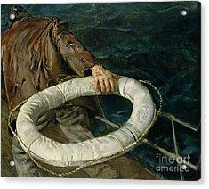 Man Overboard, 1906 Acrylic Print