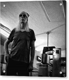#man #portrait #instapeople Acrylic Print by Rafa Rivas