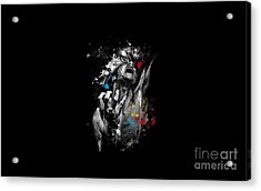 Man Shadow Acrylic Print