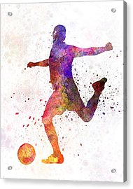 Man Soccer Football Player 03 Acrylic Print