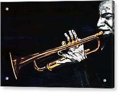 Man With The Horn -  Skip Martin   Acrylic Print