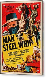 Man With The Steel Whip 1954 Acrylic Print by Mountain Dreams