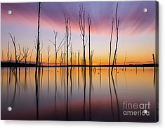Manasquan Reservoir Long Exposure Acrylic Print