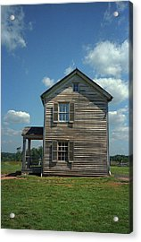 Acrylic Print featuring the photograph Manassas Battlefield Farmhouse by Frank Romeo