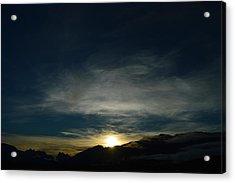 Manastash Sunrise Acrylic Print