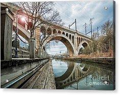Manayunk Bridge Acrylic Print