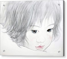 Manazashi Or Gazing Eyes Acrylic Print