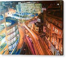 Manchester High Street Acrylic Print