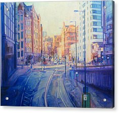 Manchester Light And Shade Acrylic Print