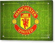 Manchester United Theater Of Dreams Large Canvas Art, Canvas Print, Large Art, Large Wall Decor Acrylic Print