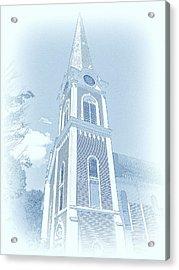 Manchester Vt Church Acrylic Print