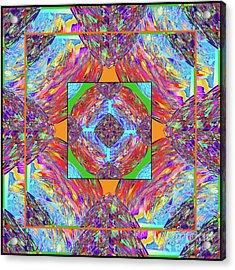 Mandala #1 Acrylic Print