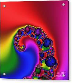 Mandala 167 Acrylic Print by Rolf Bertram
