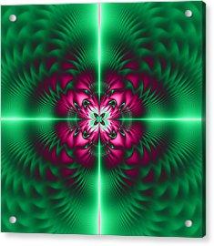 Mandala 7 Acrylic Print by Sfinga Sfinga