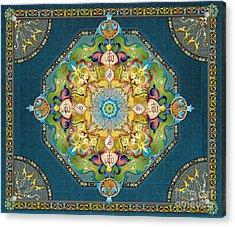 Mandala Arabesque Sp Acrylic Print