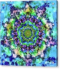 Mandala Art 1 Acrylic Print