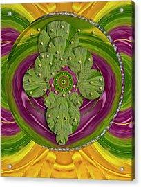 Mandala Art Acrylic Print