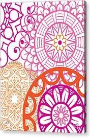 Mandala Decorative Art Acrylic Print
