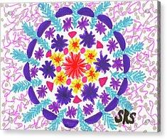 Mandala Magic Acrylic Print