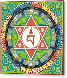 Mandala Of Vajrayogini Acrylic Print