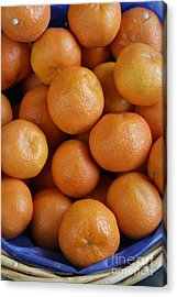 Mandarins Acrylic Print by Steve Outram