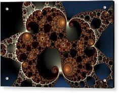Mandelbrot Cluster Acrylic Print