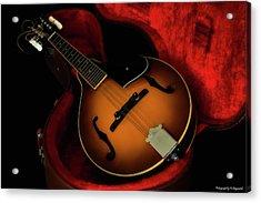 Mandolin Guitar 66661 Acrylic Print