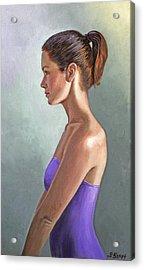 Mandy-profile Acrylic Print