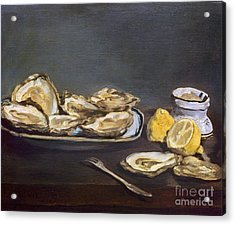Manet: Oysters, 1862 Acrylic Print by Granger