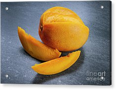 Mango And Slices Acrylic Print