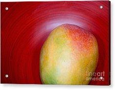 Mango Close-up Acrylic Print