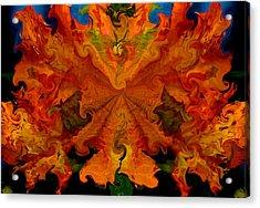 Mango Mesh Acrylic Print