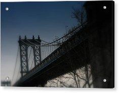 Manhattan Dreamin' Acrylic Print by Susan Crittenden