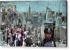 Manhattan Acrylic Print
