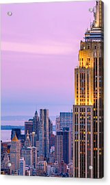 Manhattan Magic Acrylic Print