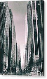 Manhattan Metropolis Acrylic Print by Jessica Jenney