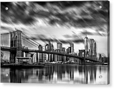 Manhattan Moods Acrylic Print